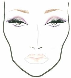 All Day I Dream Of Makeup: MAC Face Chart; Moshi! Moshi!