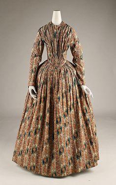1840 American Morning dress at the Metropolitan Museum of Art, New York