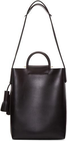 Building Block: Black Business Bag   SSENSE