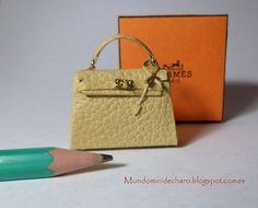 Bolso de piel de diseño, en miniatura ♡ ♡