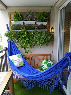 Condo Balcony, Bedroom Balcony, Apartment Balconies, Small Balcony Design, Small Balcony Decor, Bedroom Plants Decor, Room Decor Bedroom, Home Office Decor, Home Decor Kitchen