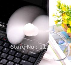 Wholesale 100pcs / lots USB mini fan free bending any angle laptops necessary , Free shipping By Fedex US $198.00 /lot (100 pieces/lot) To Buy Or See Another Product Click On This Link  http://goo.gl/EuGwiH