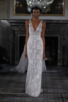 From sheer detailed two piece dresses to full length gowns covered in sparkles, this 2016 Stardust Bridal Collection from Mira Zwillinger is truly stunning so don't miss a single dress! Couture Wedding Gowns, 2016 Wedding Dresses, Wedding Dress Trends, Wedding Ideas, Wedding Stuff, Dresses 2016, Wedding Fun, Couture Dresses, Wedding Things