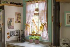 cortina para a cozinha