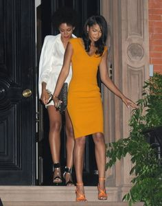 Solange And Chanel Iman