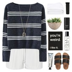 BET YOU'RE LOOKING FOR SOMETHING NEW by nxstalgia on Polyvore featuring Elizabeth and James, Billabong, Topshop, NARS Cosmetics, Tom Ford, L:A Bruket and Frette
