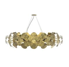 Newton Chandelier is an aluminum suspension lamp that brings a unique ambient lighting to every luxury space