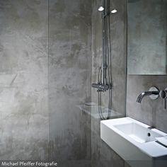 Fugenloses Bad realisiert mit Carameo. Neue Wohnideen für Badezimmer ...