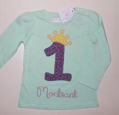 cocodrilova: camiseta cumpleaños #camisetacumpleaños #cumpleaños #1año #bebe #handmade