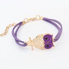 Owl Charm Bracelet