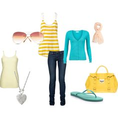 Cute, stylish outfit for Spring.