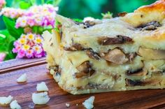 Mushroom Lasagna Recipe ~ Food Network Recipes #casserole #recipe #food #mushrooms