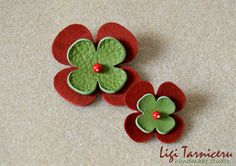 Leather, suede and bamboo coral brooches Brooches, Bamboo, Coral, Studio, Leather, Handmade, Hand Made, Brooch, Studios