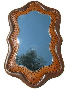 Handmade One of a Kind mirror by Karen Kell Collection studio ~ contact us to purchase.