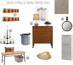 inviting + family-friendly entry