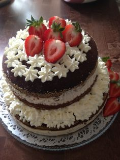 #leivojakoristele #mitäikinäleivotkin #täytekakku Kiitos Jaana