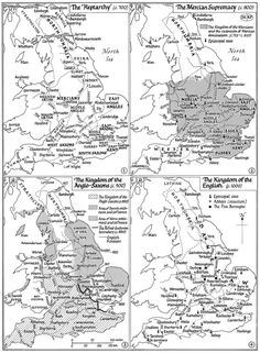 Maps of Anglo-Saxon England | Kemble