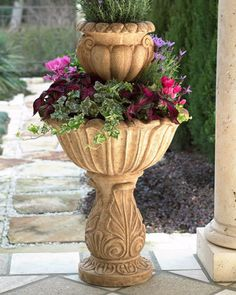 Acanthus Tiered Planter     $327.00