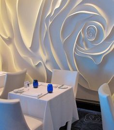 Top designs of wall paneling ideas is luxurious and beautiful. We will show you 25 ideas for decorative wall panels 2017 Plaster Art, Plaster Walls, 3d Wall Panels, Wood Panel Walls, 3d Wall Decor, Art Decor, Wall Decorations, Diy Wall, Decoration Faux Plafond