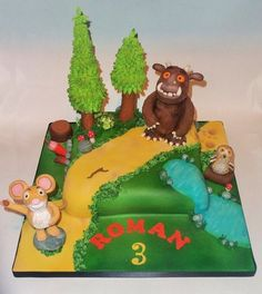 The Gruffalo!  Cake by stacemandu