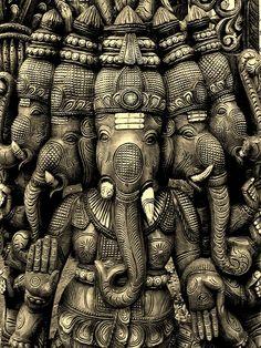 Ganesha Painting, Ganesha Art, Lord Ganesha, Shri Ganesh, Hanuman, Ganesh Idol, Ganesh Statue, Indian Gods, Indian Art