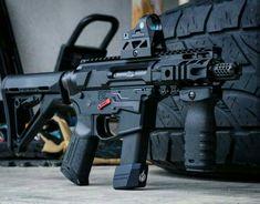 Airsoft Guns, Weapons Guns, Guns And Ammo, Ar Pistol, Battle Rifle, Submachine Gun, Custom Guns, Military Guns, Cool Guns