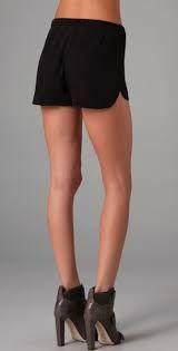 Image result for black tap shorts