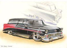 '56 Chevy Nomad by DominikScherrer on deviantART