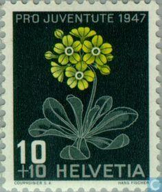 Switzerland [CHE] - Flowers 1947