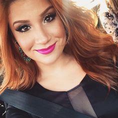 Bianca Andrade Boca Rosa blog makeup ruiva delineador