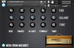 Mega Drum Machines free Kontakt library by Autodafe