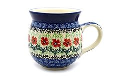 Polish Pottery Mug - 11 oz. Bubble - Maraschino -- Quickly view this special deal, click the image : Bakeware