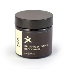 Voi Body Botanical Deodorant - made in WA $19 for 60g