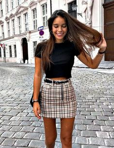 cute outfits for school . cute outfits for winter . cute outfits with leggings . cute outfits for school for highschool . cute outfits for women . cute outfits for school winter Cute Casual Outfits, Unique Outfits, Outfits For Teens, Cute Skirt Outfits, Summer Skirt Outfits, Outfit With Skirt, School Skirt Outfits, Cute Summer Outfits Tumblr, Summer Skirts