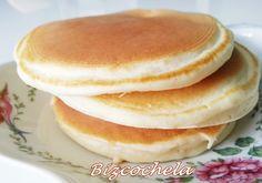 TORTITAS AMERICANAS O PANCAKES Crepes, Sin Gluten, Flan, Bagel, Sweet Recipes, Mousse, Pancakes, Dishes, Cooking