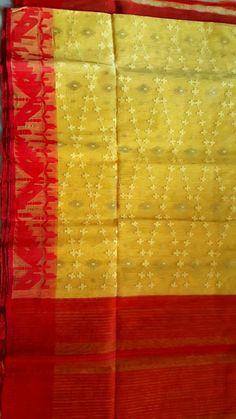 Dhakai Jamdani from YARN Jamdani Saree, Sarees, Malayali Bride, Bengali Bride, Buddha Meditation, Textile Design, Pride, Blouses, Textiles