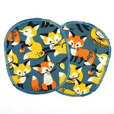 Knieflicken XL mit Fuchs, reissfest verstärkt und zum aufbügeln! und mehr davon gibts bei http://flickli.de