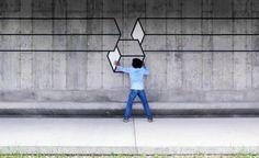 aakash nihalani street art tape modern gallery new york 08