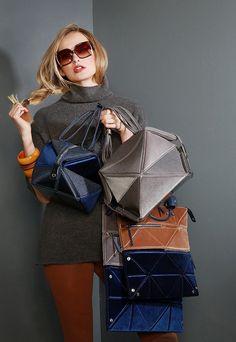 9d8349573c74 Hanaa-Fu Japanese origami versatile luxury bags Chanel Handbags, Luxury  Handbags, Leather Handbags