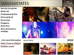 50djs50states.com is The easy way to find Party DJs for hire for weddings, corporate events and parties. Book a Party DJ anywhere in the Us now! Instant online quotes. http://www.50djs50states.com/