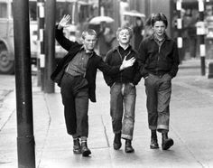 Kids in Glasgow 1972