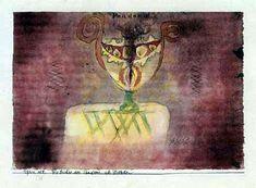 """""""Die Büchse der Pandora"""" von Paul Klee (Museum Berggruen, Berlin)"""