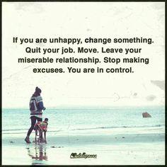 If you're unhappy.....