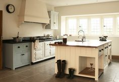 I could spend all day looking at these kitchens.  Bespoke Kitchens by deVOL - Classic Georgian style English Kitchens