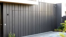 Archclad is the market leader for wall cladding in Melbourne specialising in, aluminum, metal, zinc, copper and specialised metals. Call us on 1300 CLADDING Metal Cladding, Exterior Cladding, Wall Cladding, Metal Garage Doors, Modern Garage Doors, Modern House Facades, Garage Design, Facade House, Home Reno
