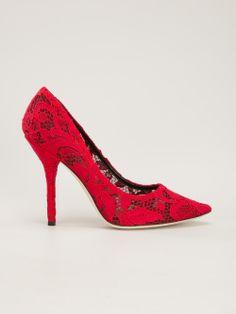 DOLCE & GABBANA - Sapato vermelho 7