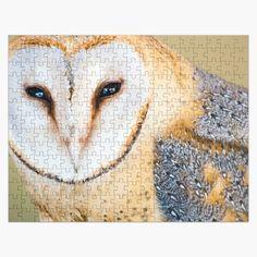 Jigsaw Puzzles, Owl, My Arts, Bird, Art Prints, Printed, Awesome, Artist, Shop