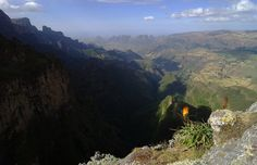 Gregor Samsa posted a photo:  Simien Mountains National Park is one of the national parks of Ethiopia. Located in the Semien (North) Gondar Zone of the Amhara Region, its territory covers the Simien Mountains and includes Ras Dashan, the highest point in Ethiopia. It is home to a number of endangered species, including the Ethiopian wolf and the walia ibex, a wild goat found nowhere else in the world. The gelada baboon and the caracal, a cat, also occur within the Simien Mountains. More than…