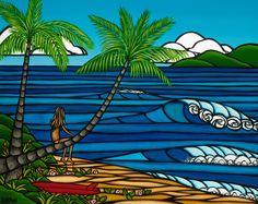 heather brown surf art | Heather Brown | Local Hawaii Magazine
