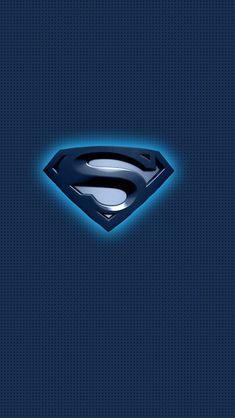 Superman Blue Logo iPhone 5s wallpaper